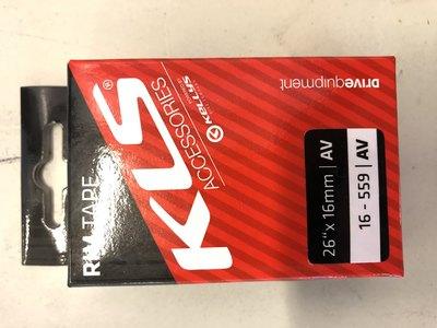 vannenauha kellys 26''x 16mm AV